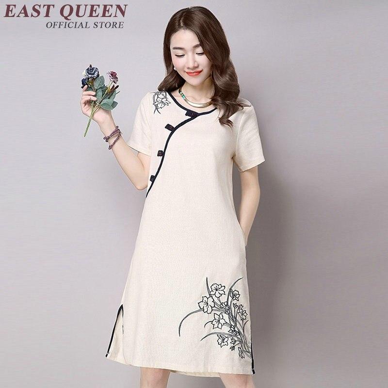 oriental style dresses qi pao short cheongsam dress modern