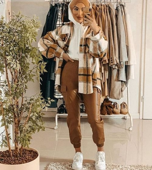 oversized flannel checked shirt jackets just trendy girls