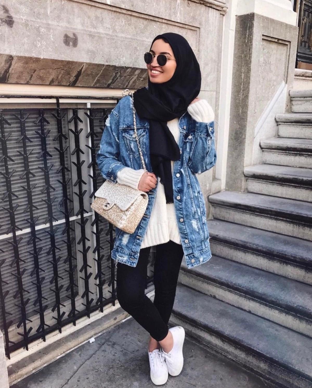 pinterest adarkurdish hijab style hijab jeans hijabi