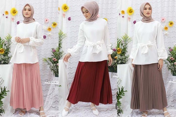 rekomendasi online shop hijab instagram yang menjual rok