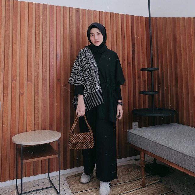 style kondangan hijab celana kulot plisket jilbab gallery