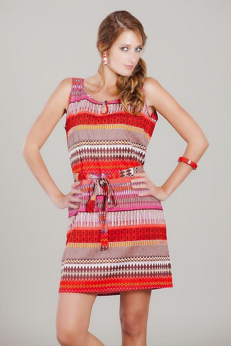 vertical border dress vivante vsa mini dress