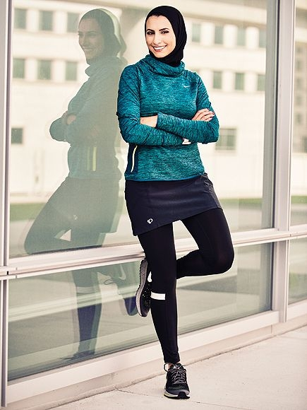 womens running magazine features a runner who wears a