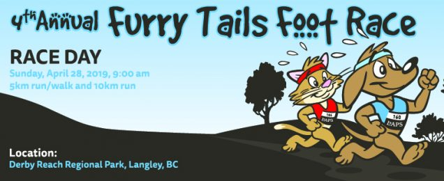 LAPS 4th annual furry tails foot race