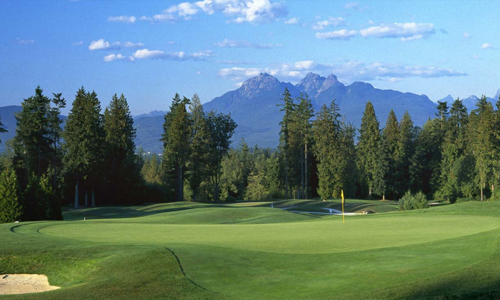 Redwoods Golf Course one of the best greens in Langley