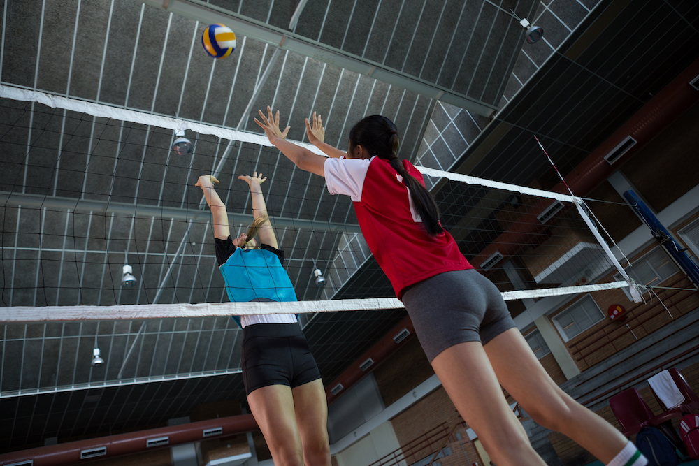Volley ball camp langley