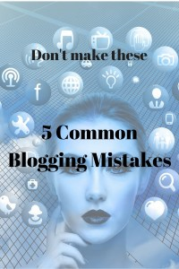 Five Common Blogging Mistakes