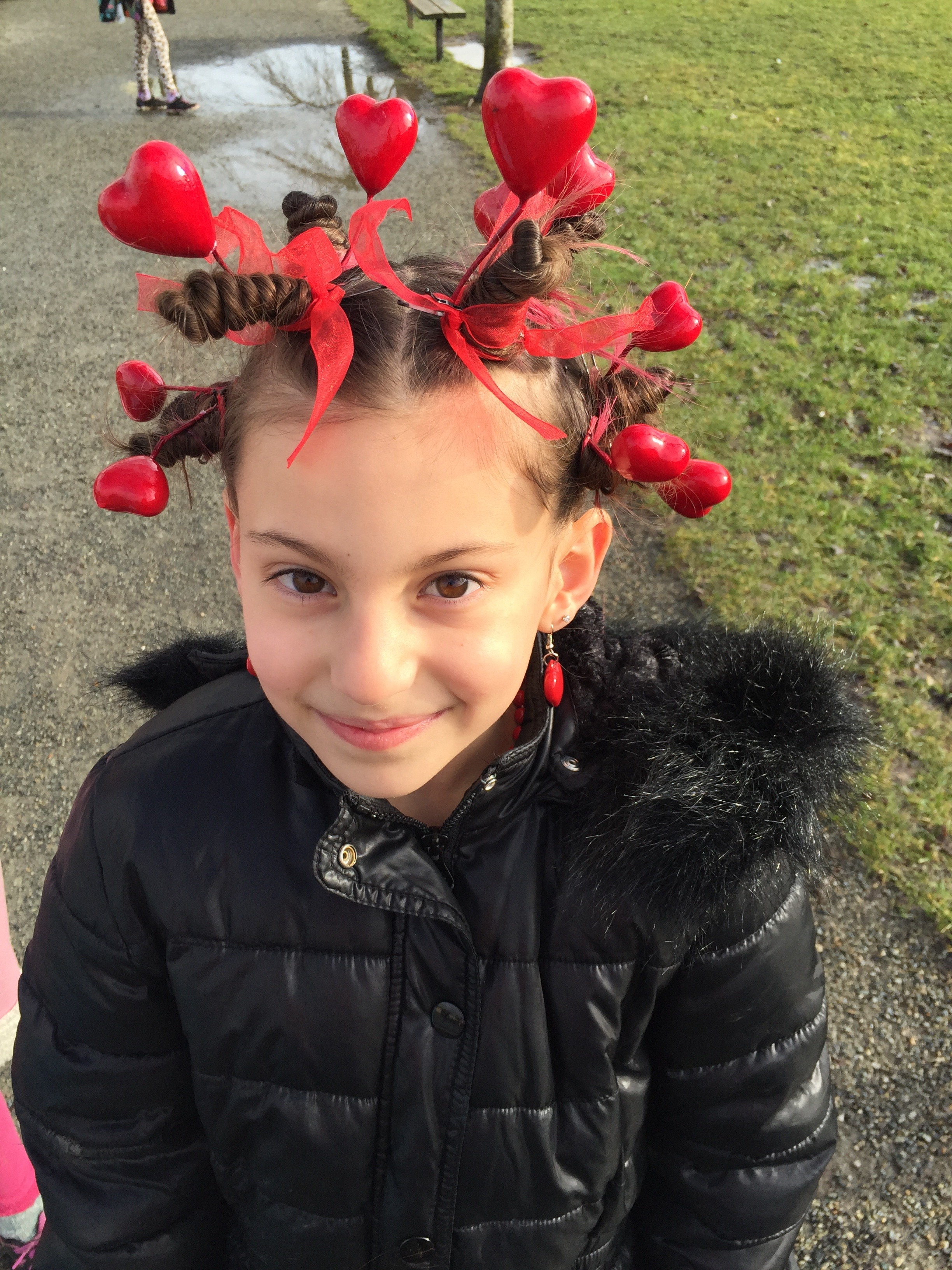 Crazy Hair Day For Students