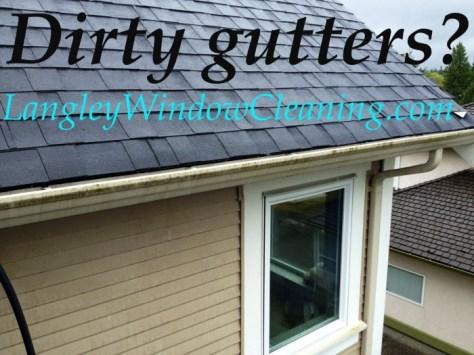 Dirty gutters