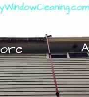 LangleyWindowCleaning.com – Gutter washing before after