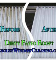 LangleyWindowCleaning.com – Patio roof wash