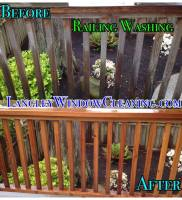 LangleyWindowCleaning.com – Railing wash
