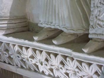 Particolare dele scarpe