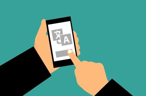 traduire sur un smartphone