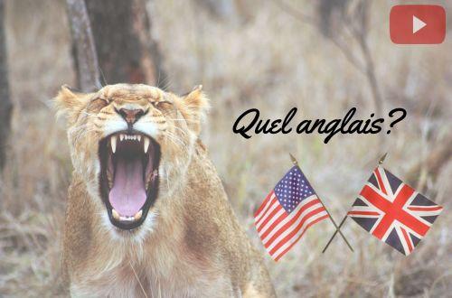anglais américain britannique