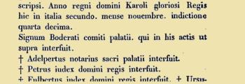 834 – Petrus iudex domini regis
