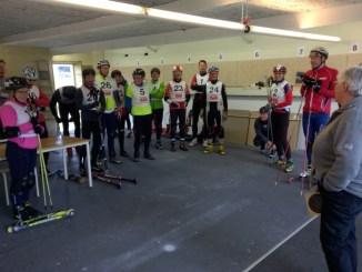 Rulleski skiskydning i Faaborg sidst i april - instruktion og træning
