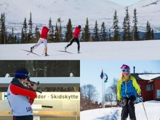 Langrend skøjt og skiskydning i Vålådalen uge 19-2019