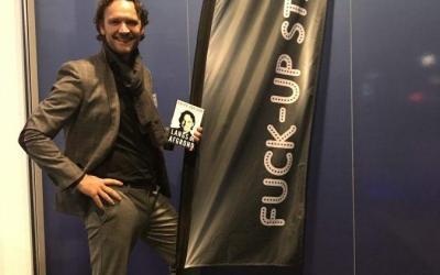 Lessons learned delen op de Fuck-up Stage