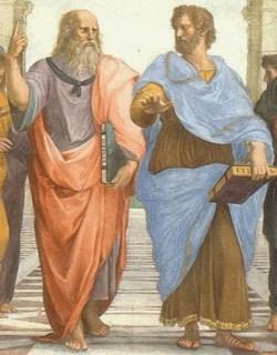 Två intelligenta individer från antikens Grekland