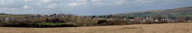 Langton Matravers Village from the Southeast