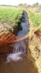 Priest's Way silt trap