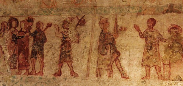 Medieval Wall Paintings, N Stoke Church, North Stoke Church Photo Gallery