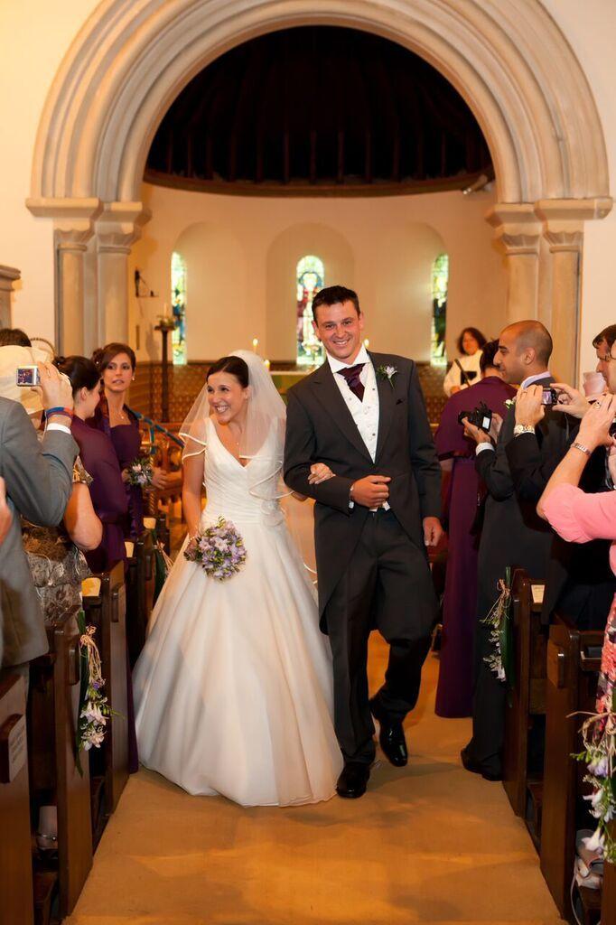 Wedding at Woodcote Church