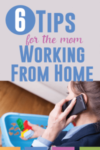 Six tips to maintain your sanity when working from home with kids.