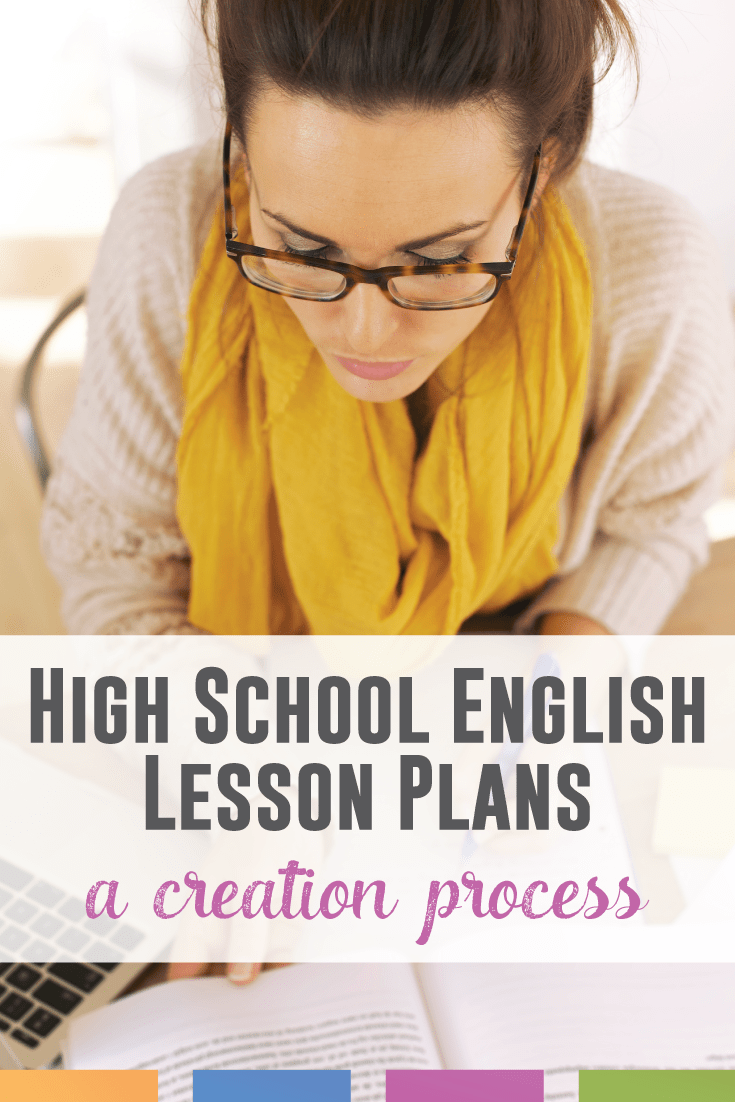 Creating English lesson plans can be daunting. Here is one ELA teacher's creation process for writing lesson plans.