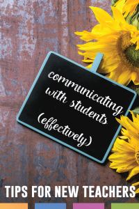 Communicating with students can shape your class periods and form relationships with students. Here are ideas to consider when building relationships with students.