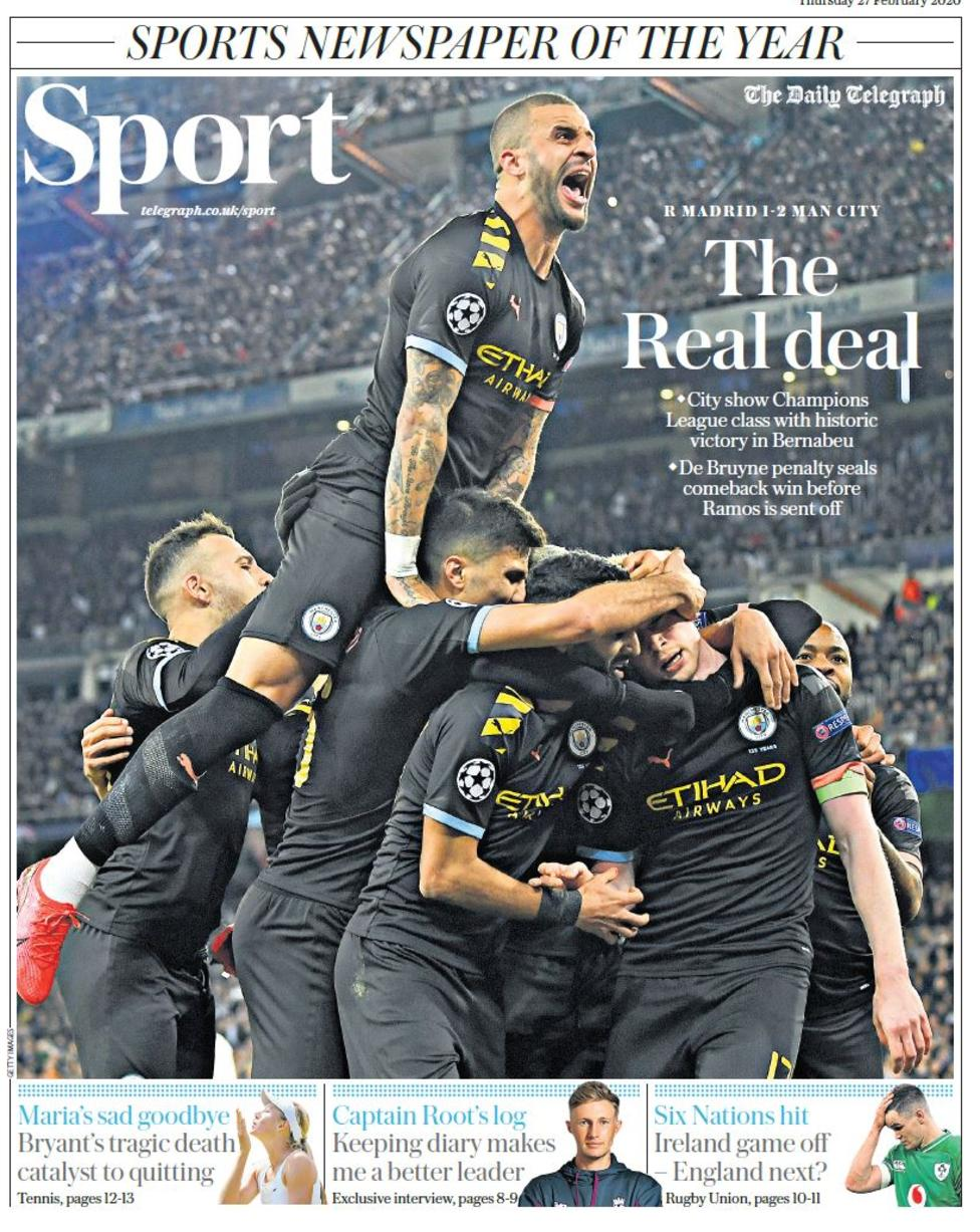 Newspaper Headline: The Real deal