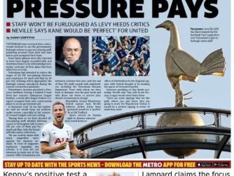 Spurs U-Turn as Pressure Pays