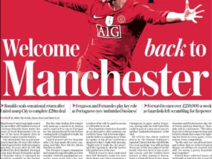 Welcome back to Manchester