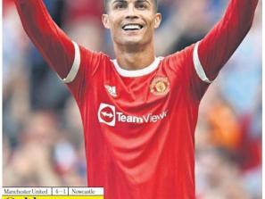 Golden Return for Ronaldo