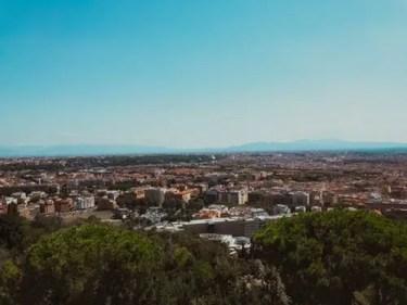 I 7 colli: Roma, vista su Roma.