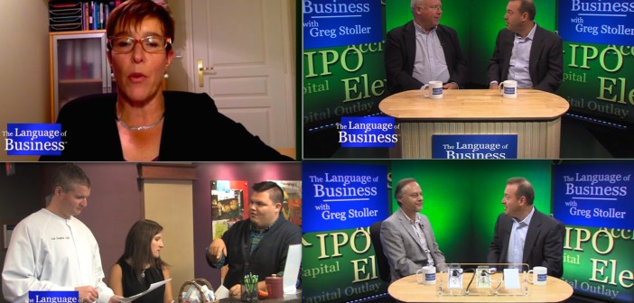 2 minute highlight reel for Language of Business TV show
