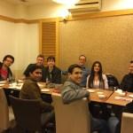 ICP Class arrives in Beijing