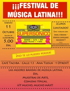Flier supersonico final