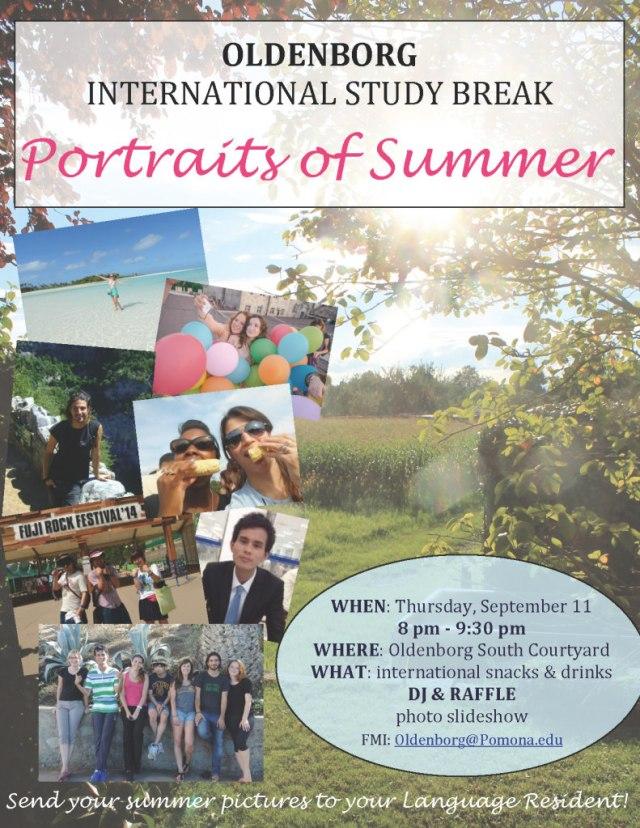 Portraits of Summer 9-2014