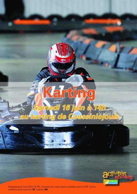 Karting Caussiniojouls