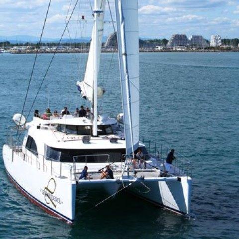 Sortie maxi Catamaran la Providence