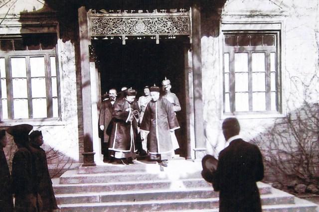 Emil Krebs Visite prince chinois