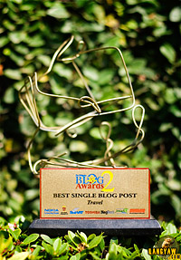 Best Single Post - Travel trophy
