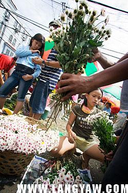 Cebu flower market