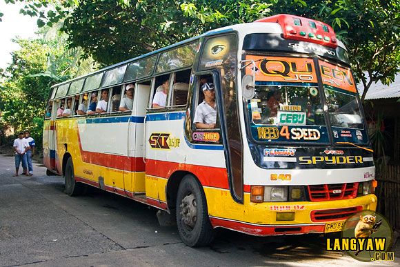 The ST Bus of Corominas bus company that I took from Tuburan was no fun at all. In fact, it was an exasperating ride that taxed my patience.