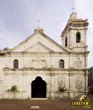 The beautiful church of Sto. Nino