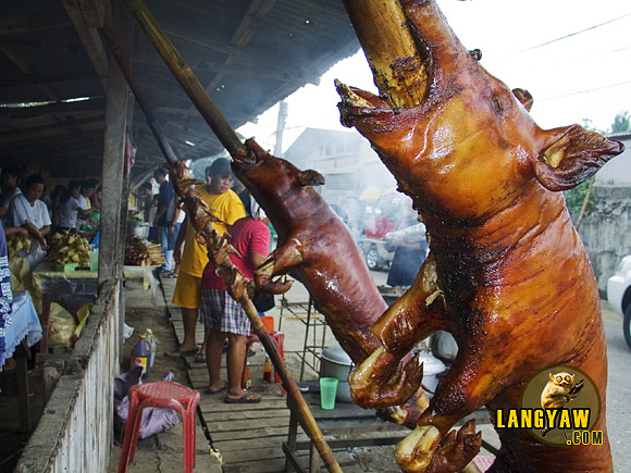 "Lechon Cebu is famed as ""the best pig ever"" according to food guru Anthonhy Bourdain and Talisay City is the place to taste this one"