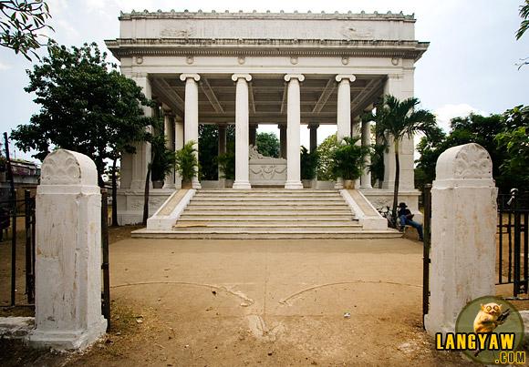 The Osmena Mausoleum in the old Carreta cemetery