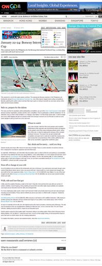 The Boracay Funboard Cup article that I wrote for CNNGo.com. CLICK to visit the actual site.